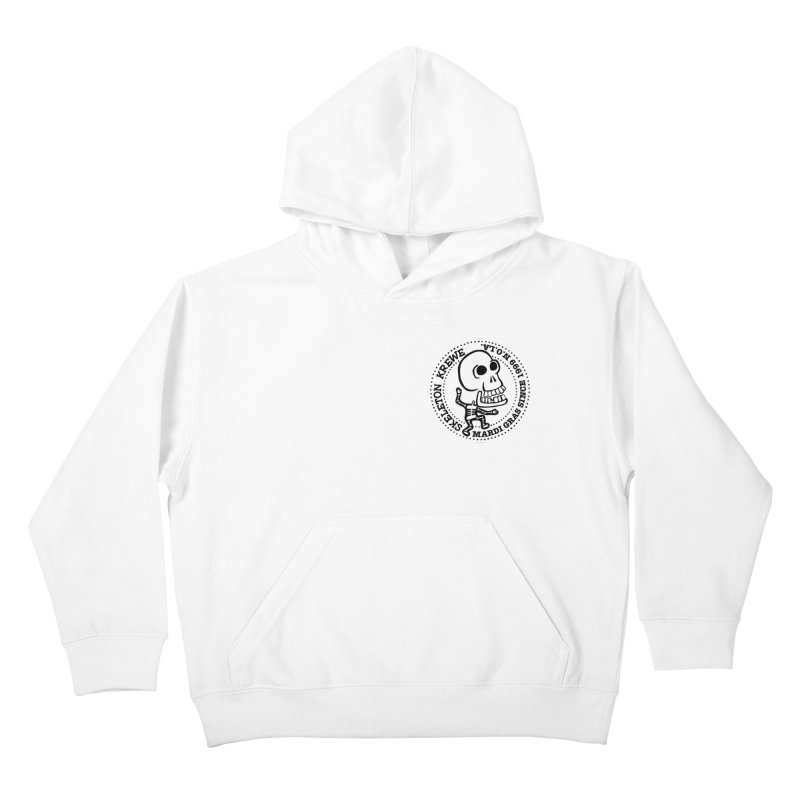 Skeleton Krewe Small Logo Kids Pullover Hoody by Skeleton Krewe's Shop