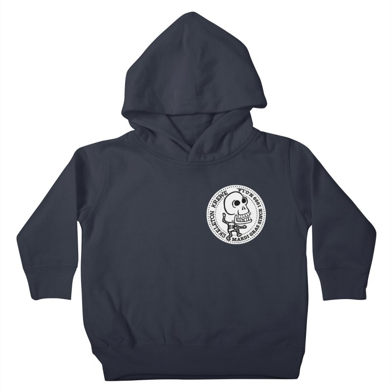 Skeleton Krewe Small Logo Kids Toddler Pullover Hoody by Skeleton Krewe's Shop