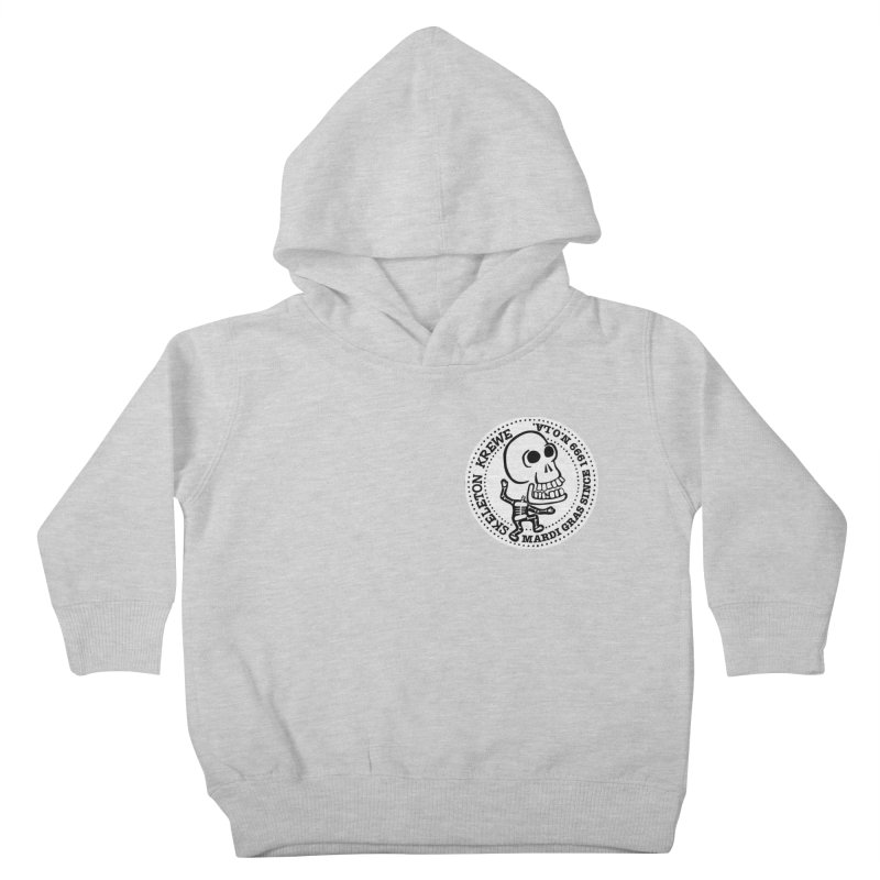 Skeleton Krewe Small Logo Kids Toddler Pullover Hoody by Skeleton Krewe's Shop