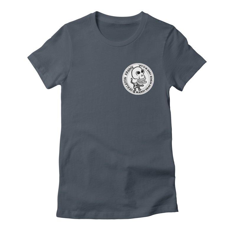 Skeleton Krewe Small Logo Women's T-Shirt by Skeleton Krewe's Shop