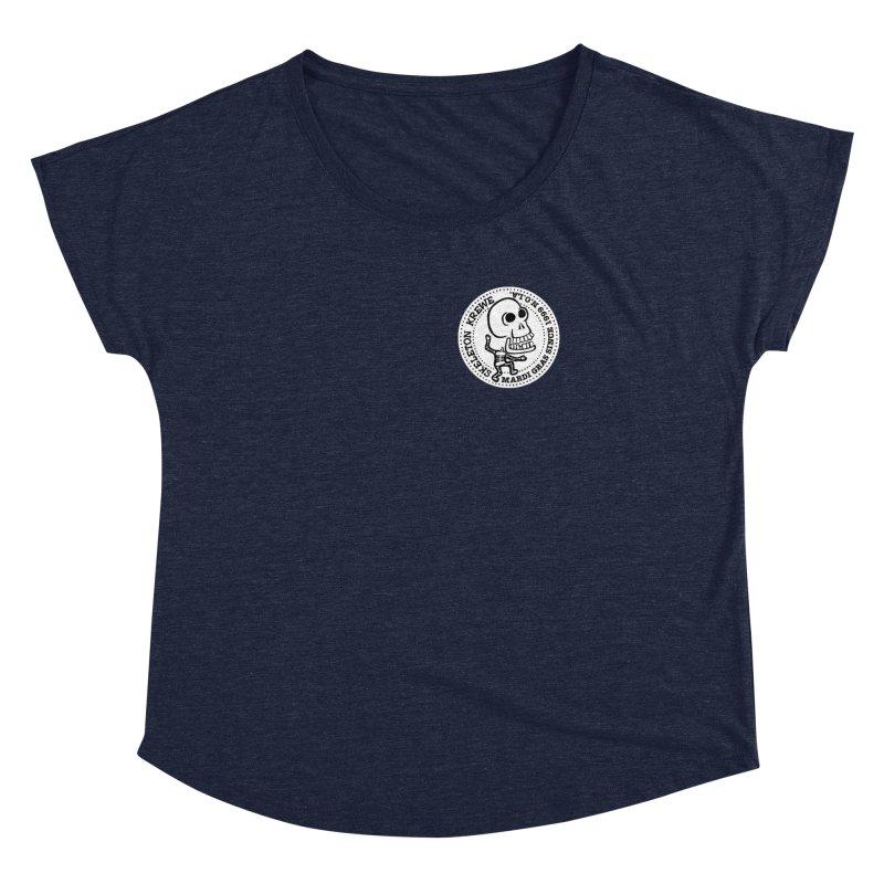 Skeleton Krewe Small Logo Women's Dolman by Skeleton Krewe's Shop