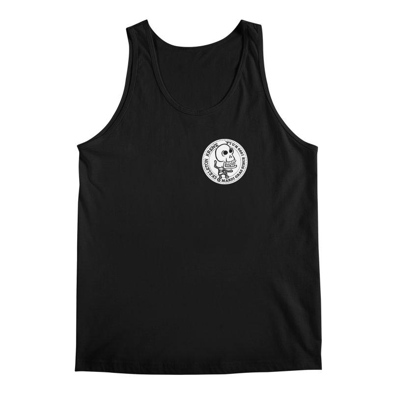 Skeleton Krewe Small Logo Men's Regular Tank by Skeleton Krewe's Shop