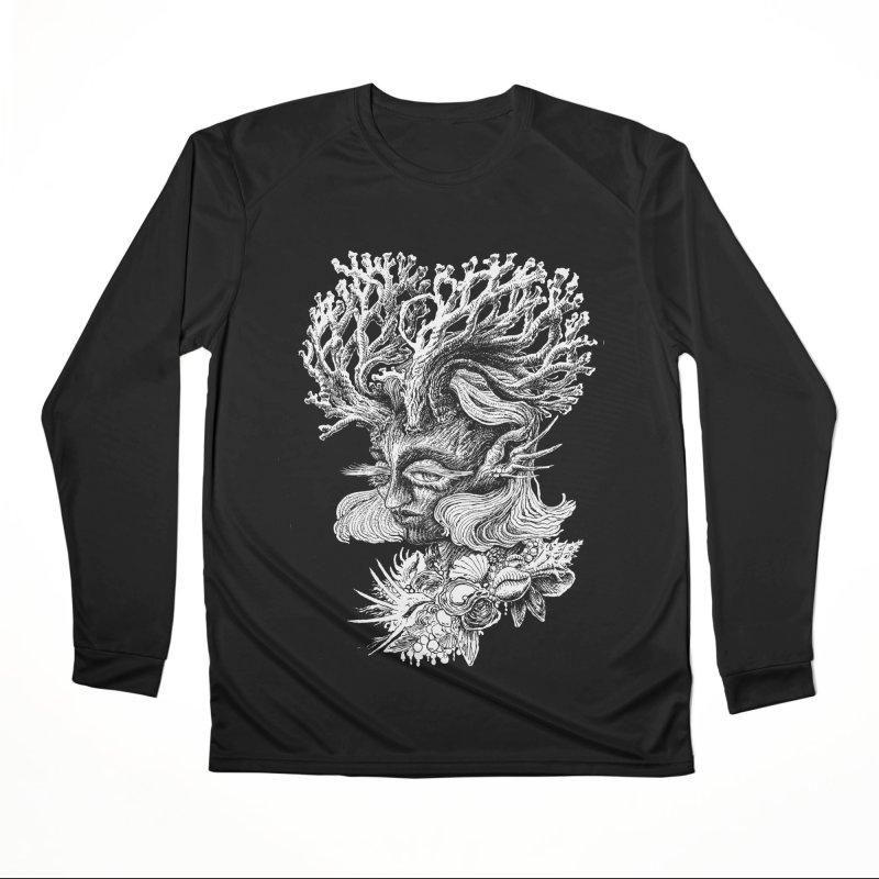 Thalassa Men's Performance Longsleeve T-Shirt by Skeleton Weather