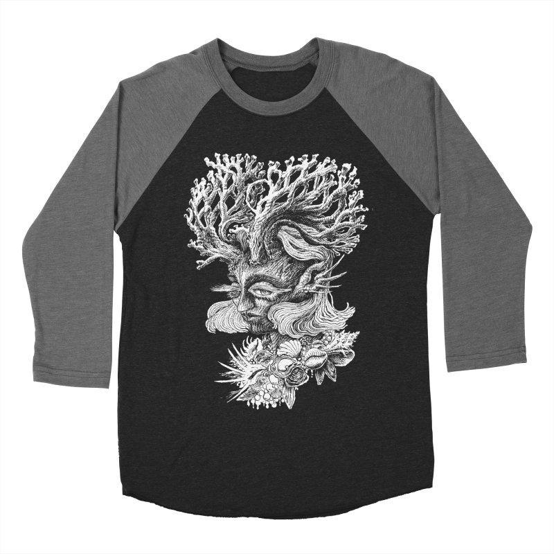 Thalassa Women's Baseball Triblend Longsleeve T-Shirt by Skeleton Weather