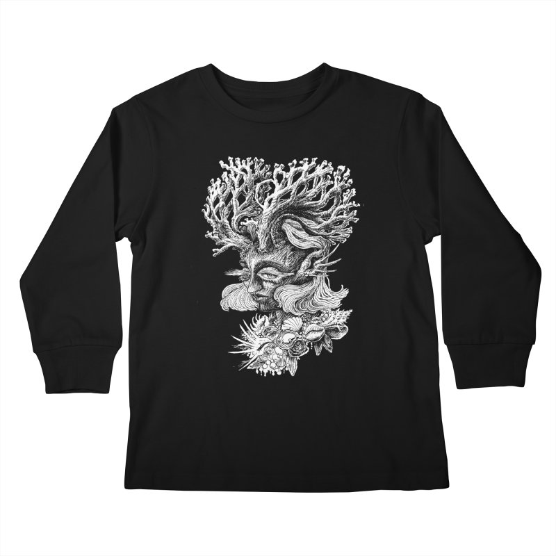 Thalassa Kids Longsleeve T-Shirt by Skeleton Weather