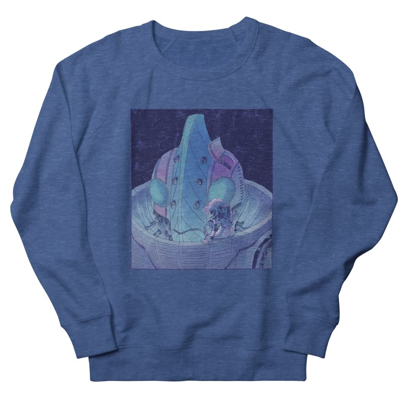 Giant Robot Men's Sweatshirt by Skeleton Weather