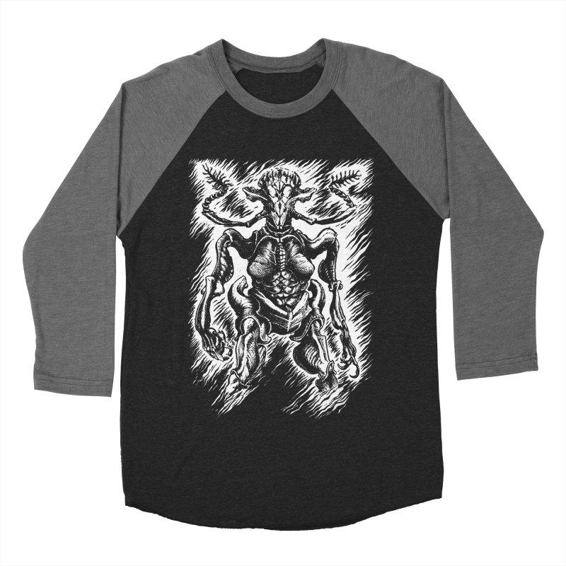 Big Bug Women's Baseball Triblend Longsleeve T-Shirt by Skeleton Weather