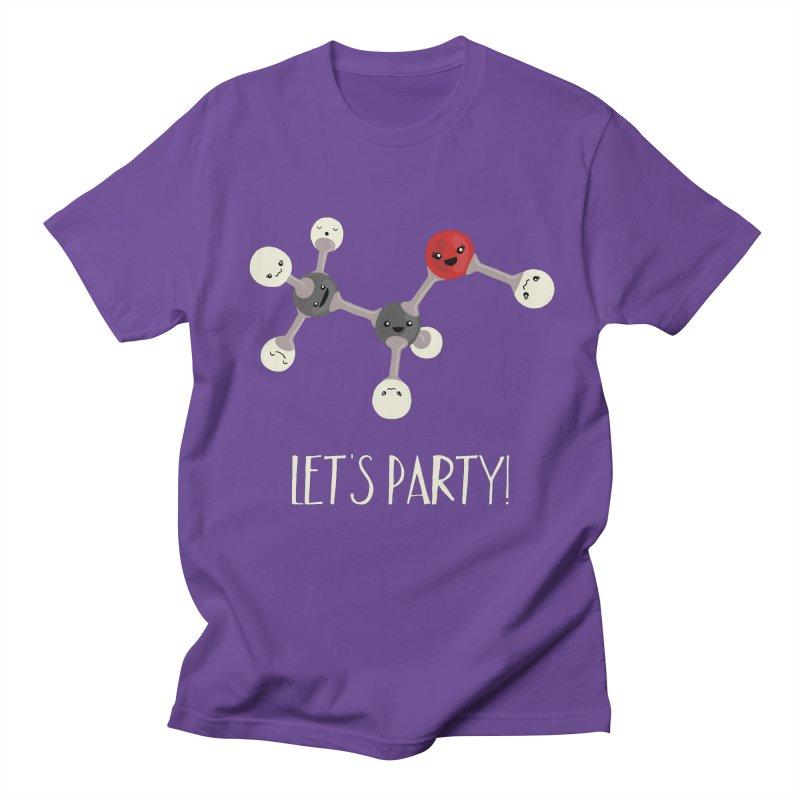 Let's Party! Men's T-shirt by Skepticool's Artist Shop