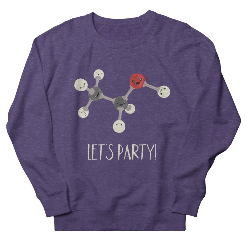 Let's Party! Men's French Terry Sweatshirt by Skepticool's Artist Shop