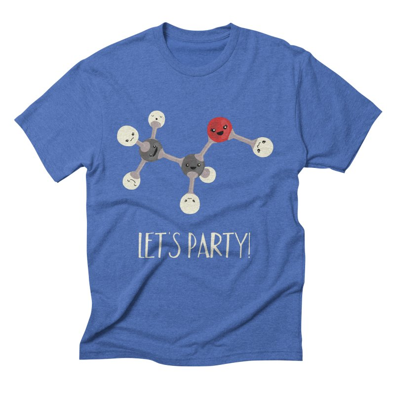 Let's Party! Men's Triblend T-Shirt by Skepticool's Artist Shop