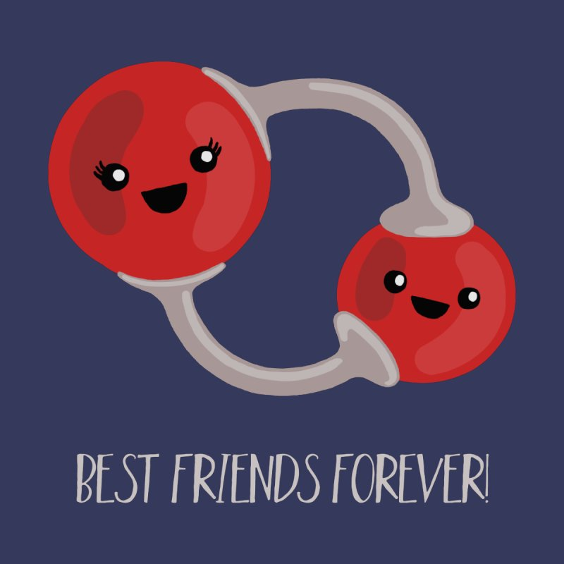 Best Friends Forever Men's Sweatshirt by Skepticool's Artist Shop