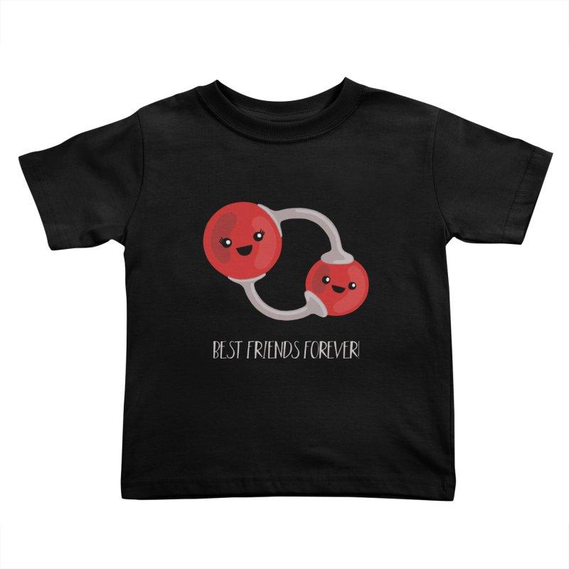 Best Friends Forever Kids Toddler T-Shirt by Skepticool's Artist Shop