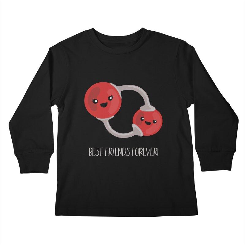 Best Friends Forever Kids Longsleeve T-Shirt by Skepticool's Artist Shop