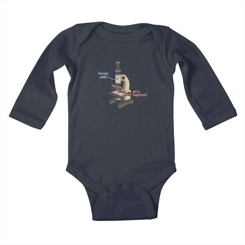 You're Magnificent! Kids Baby Longsleeve Bodysuit by Skepticool's Artist Shop