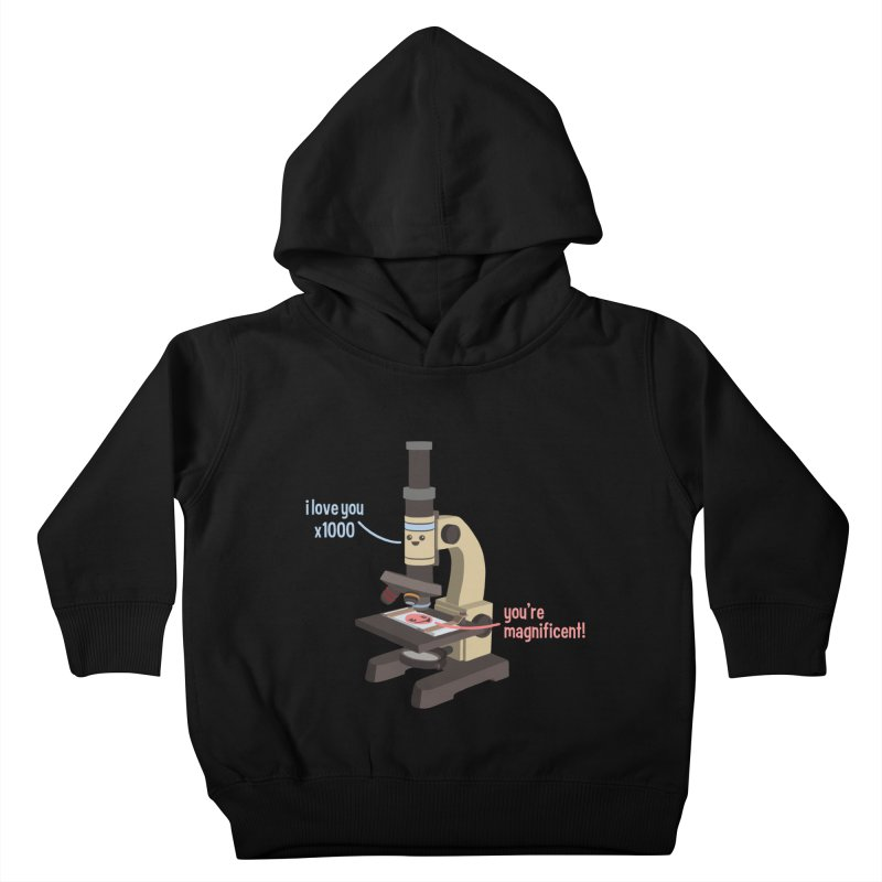 You're Magnificent! Kids Toddler Pullover Hoody by Skepticool's Artist Shop