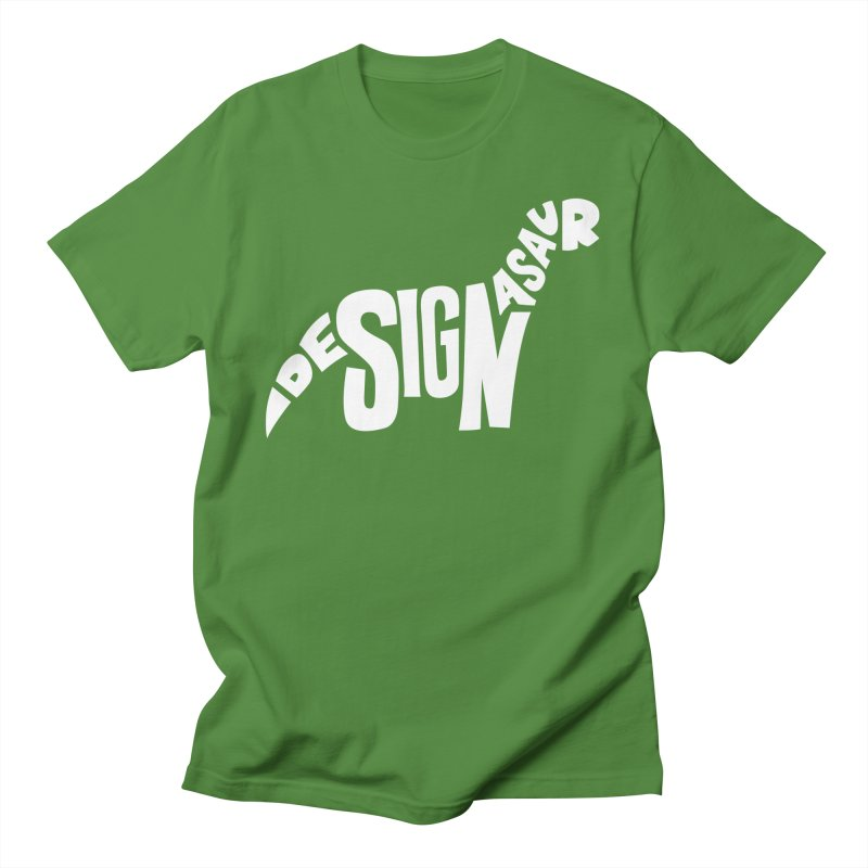 Designasaur Men's T-Shirt by Sketchbook B