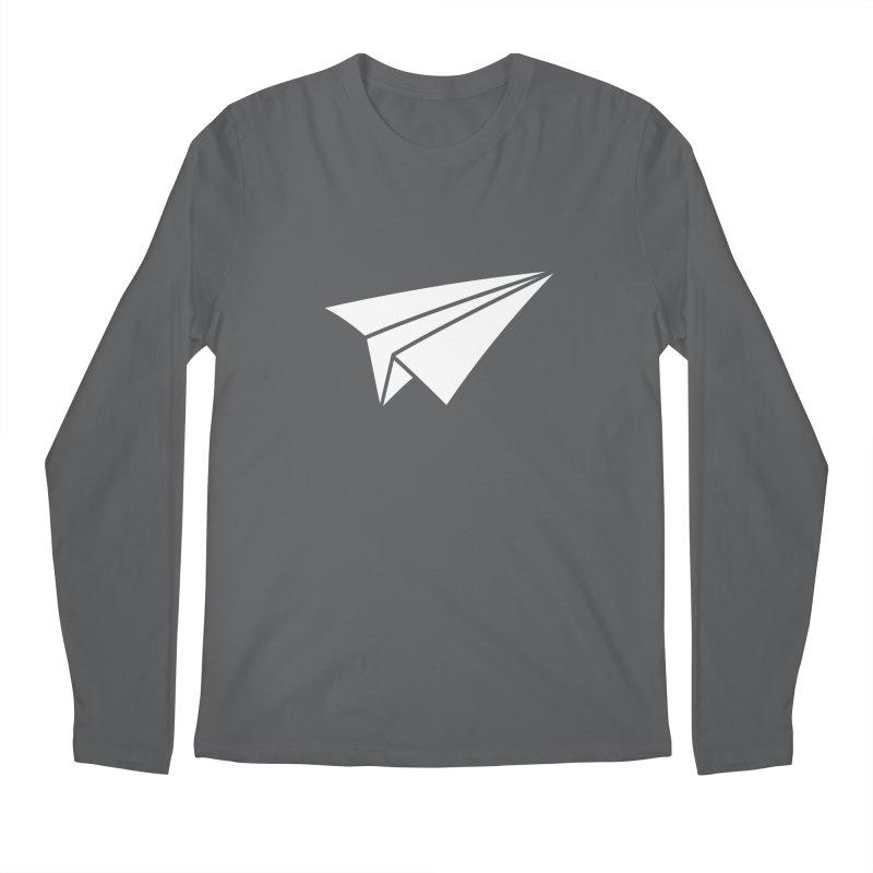 Paper Airplane Men's Longsleeve T-Shirt by Sketchbook B