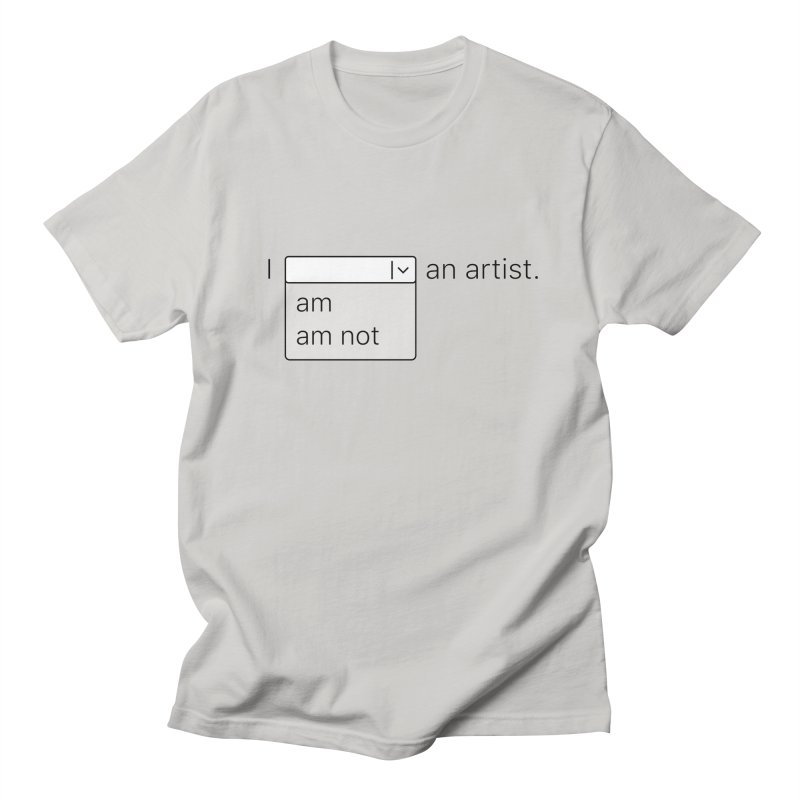 Combo Box in Men's Regular T-Shirt Stone by Sketchbook B