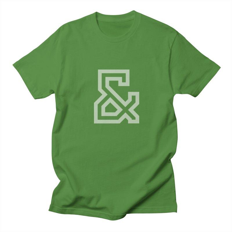Ampersand in Men's Regular T-Shirt Clover by Sketchbook B