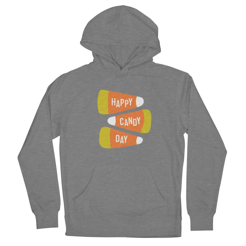 Happy Candy Day! Women's French Terry Pullover Hoody by Sketchbook B