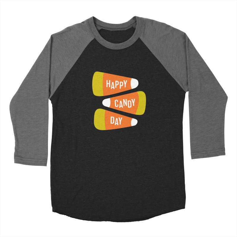 Happy Candy Day! Women's Baseball Triblend Longsleeve T-Shirt by Sketchbook B