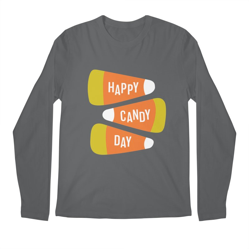 Happy Candy Day! Men's Longsleeve T-Shirt by Sketchbook B