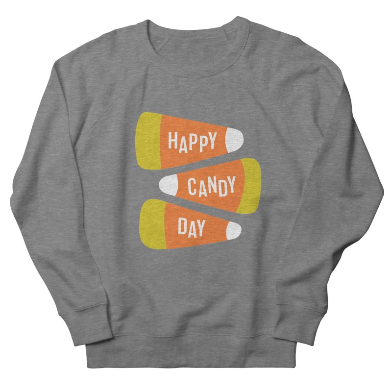 Happy Candy Day! Men's French Terry Sweatshirt by Sketchbook B
