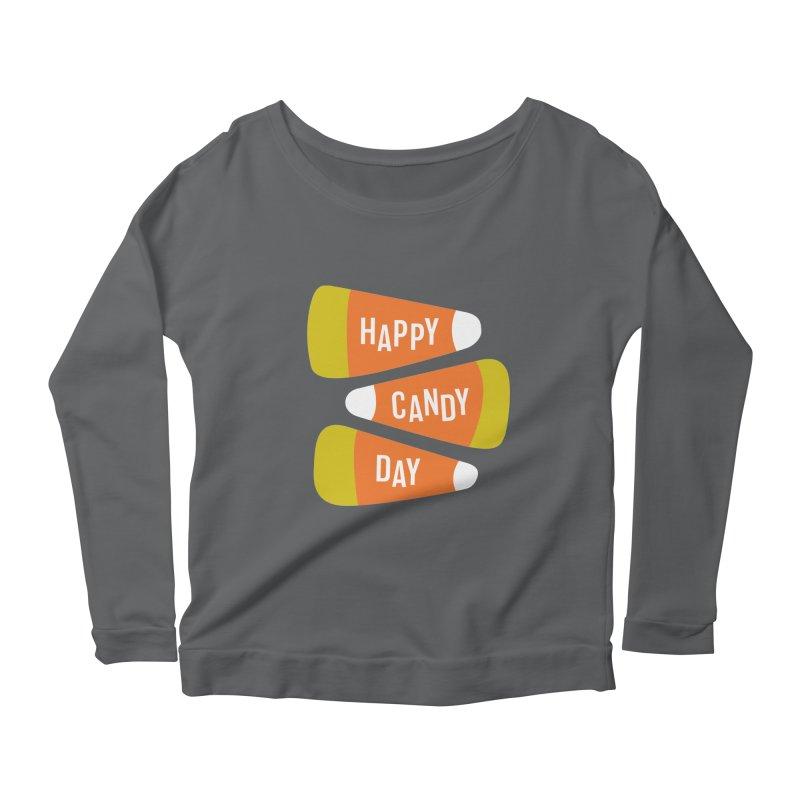 Happy Candy Day! Women's Longsleeve T-Shirt by Sketchbook B