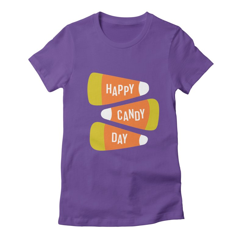 Happy Candy Day! Women's T-Shirt by Sketchbook B