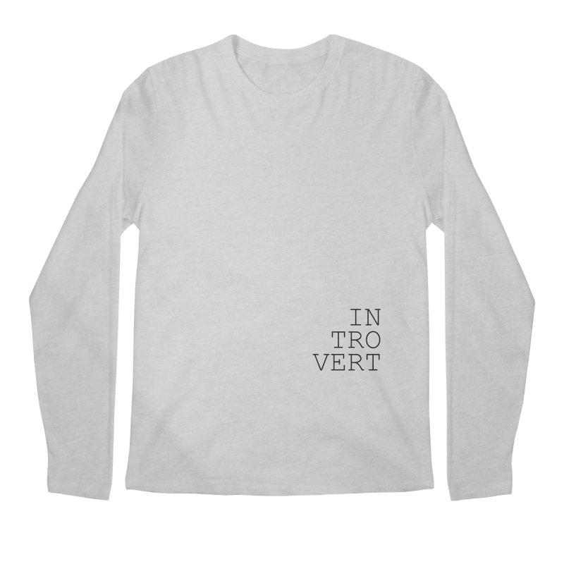 Introvert Men's Longsleeve T-Shirt by Sketchbook B