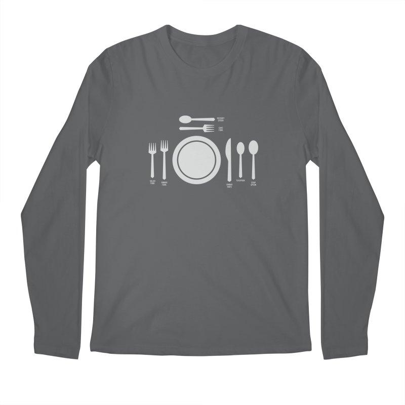 Fancy Men's Longsleeve T-Shirt by Sketchbook B