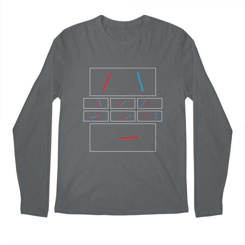Duel Men's Longsleeve T-Shirt by Sketchbook B