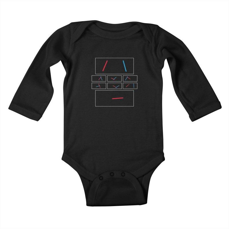 Duel Kids Baby Longsleeve Bodysuit by Sketchbook B