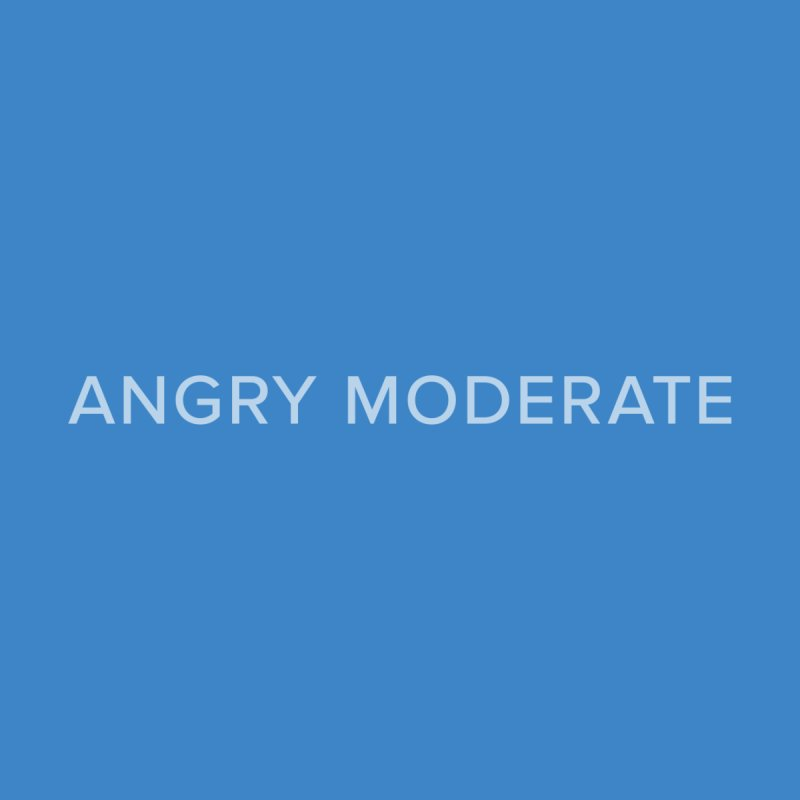 Angry Moderate by Sketchbook B