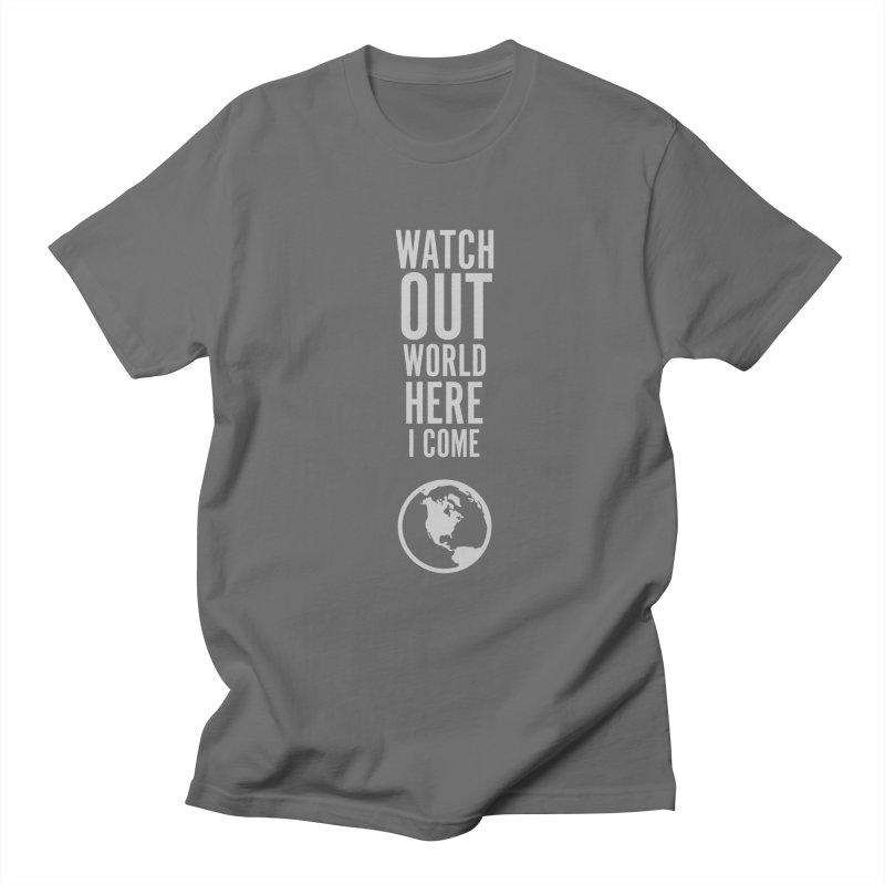 Watch out world Men's T-Shirt by Sketchbook B