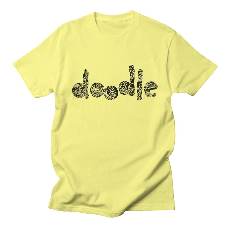 Doodle Men's T-Shirt by Sketchbook B