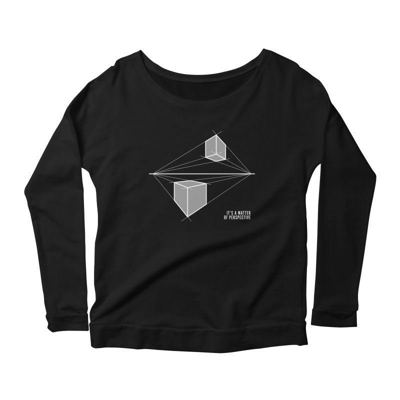 Perspective Women's Scoop Neck Longsleeve T-Shirt by Sketchbook B
