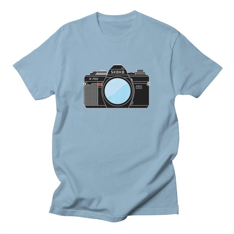 First Camera Men's T-Shirt by Sketchbook B