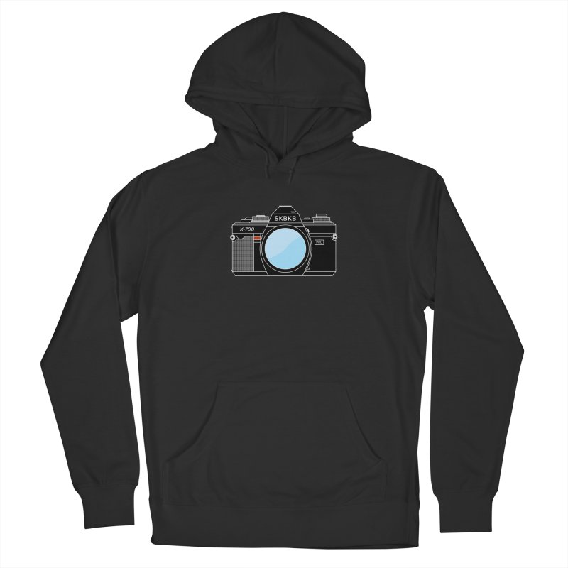 First Camera Men's French Terry Pullover Hoody by Sketchbook B