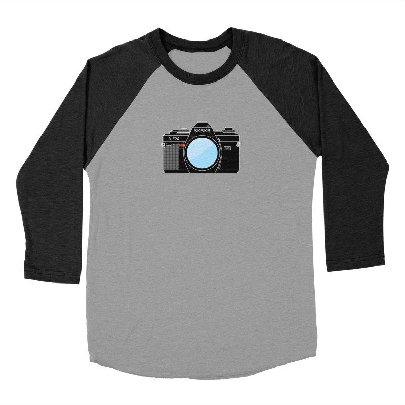 First Camera Women's Baseball Triblend Longsleeve T-Shirt by Sketchbook B