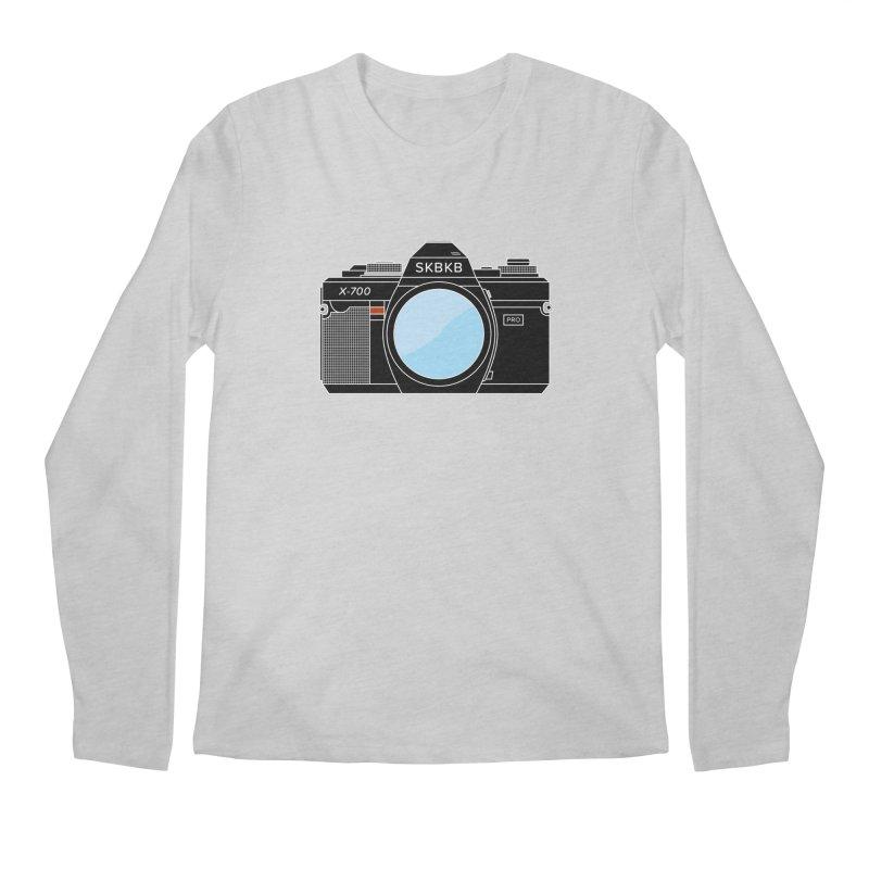 First Camera Men's Regular Longsleeve T-Shirt by Sketchbook B