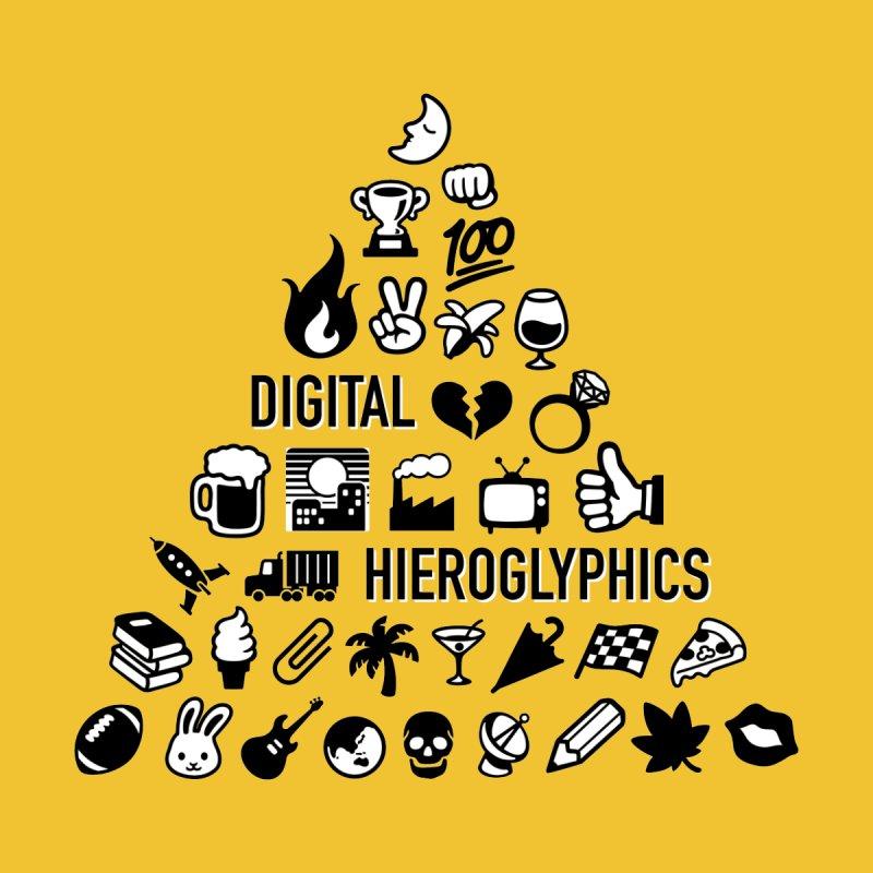 Digital Hieroglyphics Men's T-Shirt by Sketchbook B
