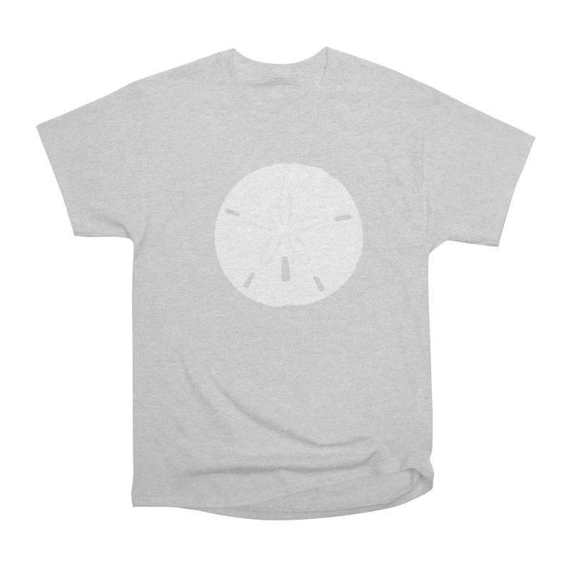 Sand Dollar Men's Heavyweight T-Shirt by Sketchbook B