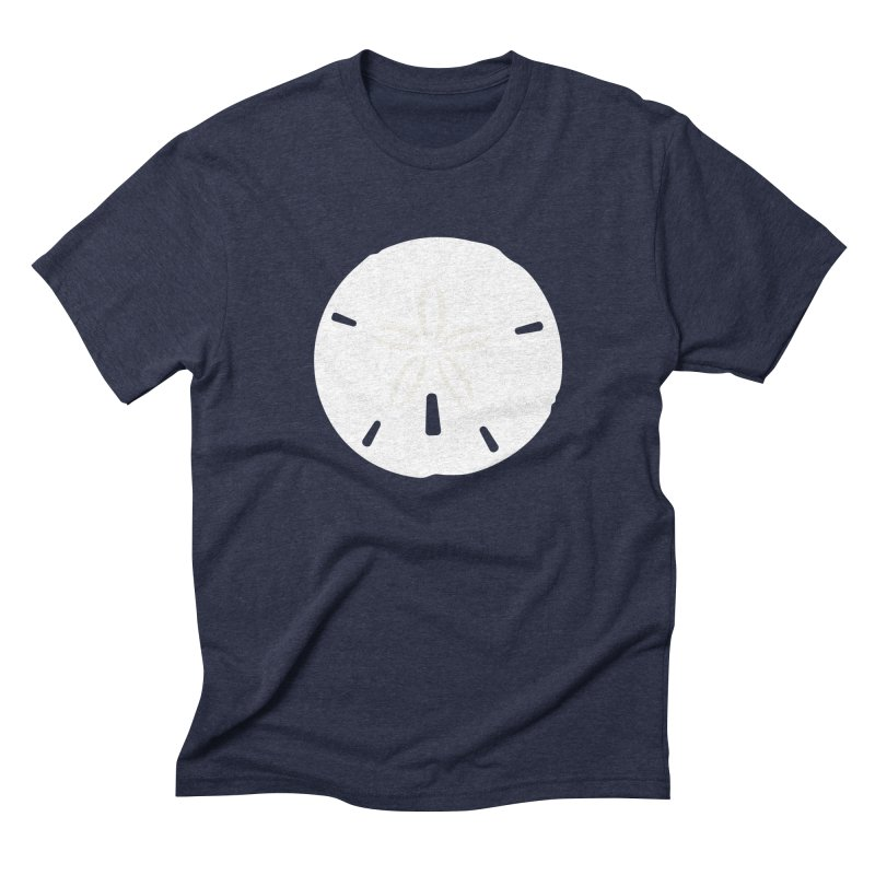 Sand Dollar Men's Triblend T-Shirt by Sketchbook B