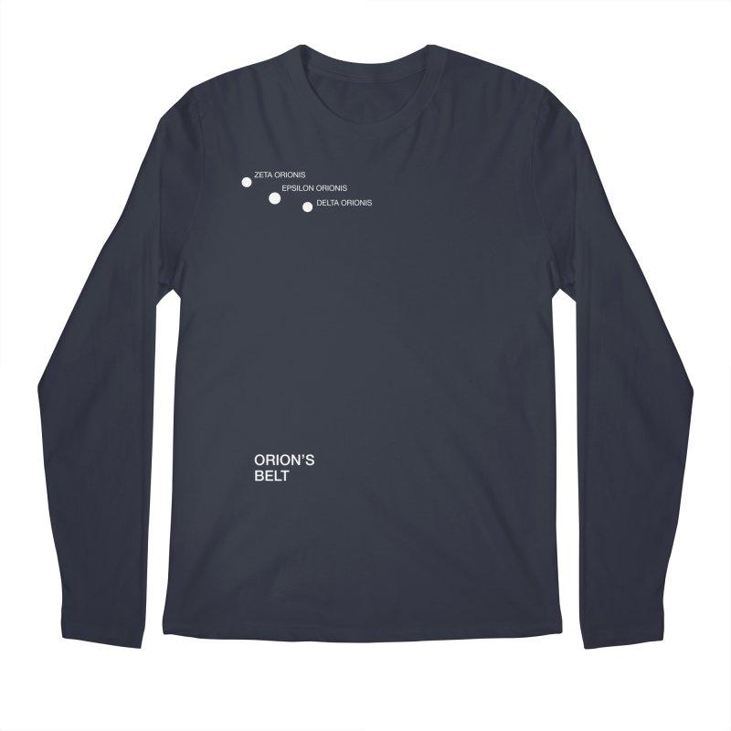 Orion's Belt Men's Longsleeve T-Shirt by Sketchbook B
