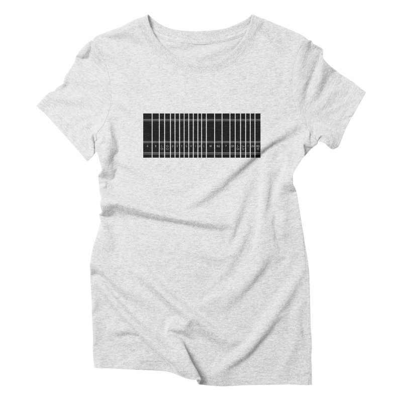 Knowledge Women's Triblend T-Shirt by Sketchbook B