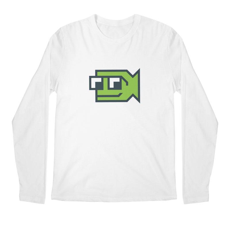 Bold Fish, Big Ocean Men's Regular Longsleeve T-Shirt by Sketchbook B