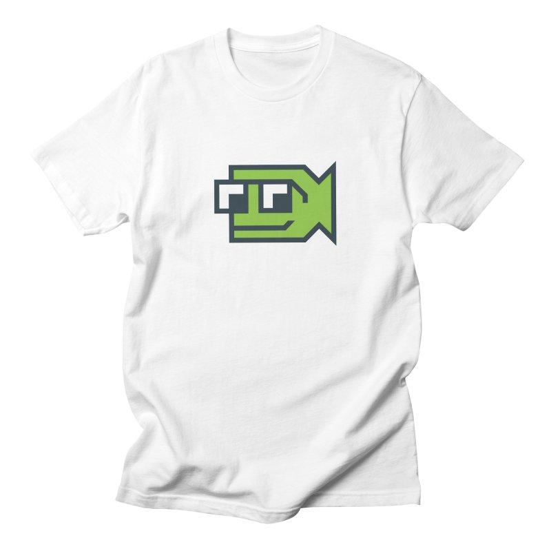 Bold Fish, Big Ocean Men's Regular T-Shirt by Sketchbook B