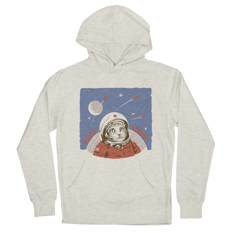 Soviet Space Cat Men's Pullover Hoody by sketchboy01's Artist Shop
