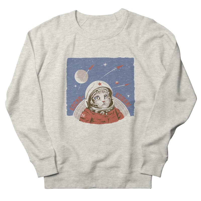 Soviet Space Cat Men's Sweatshirt by sketchboy01's Artist Shop
